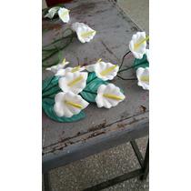 Flores De Goma Eva Calas (por 10 Unidades)