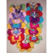 Imanes Mariposa, Tejidos Al Crochet. Ideal Souveniers Y Deco