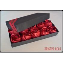 Rosas De Papel ! Regalo Original Origami - Opc Bombonera