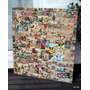 Historietas Antiguas Collage Cuadro De 96 X 86,5 Cm