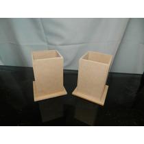Lapiceros En Fibrofacil 6x6x9