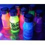 Pintura Fluo Fluorescente 250cc Brilla Luz Ultravioleta Negr