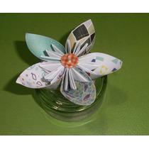 Artesanias En Origami - Flor