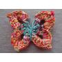 Mariposas Crochet Móvil Llavero Colgante Aplique Deco