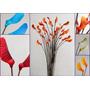 Alba.originales Flores De Foami Ramos De 35 Varas De Colores