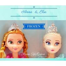 Molde Caucho De Silicona Flexible Combo Frozen!!! 4 Moldes!