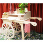 Carro Candy Bar Floral ( Flawer Cart)