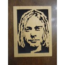 Cuadro Kurt Cobain En Madera