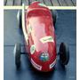 Auto De Carrera Mono Posto En Papel Mache 36x15 Cm