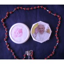 Rosario Pétalos De Rosas Originales Papa Francisco