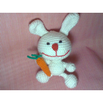 Conejo Tejido En Crochet - Técnica Amigurumi