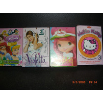 20 Cartas Naipes Violetta Frozen Mickey Ben10 Cars