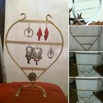 Oferta!! Exhibidor Y Organizador Porta Aros Corazon