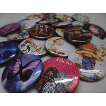 100 Pins Personalizado Boton Publicitario Vive-ideas 38 Mm