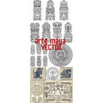 Arte Maya Vector Ideal Textil + Diseño