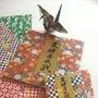 Papel Para Origami (80 Hojas) - Importado De Japon
