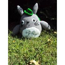 Amigurumi. Muñeco Mi Vecino Totoro, Tejido Crochet