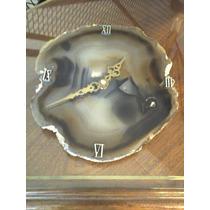 Rodaja Agata Reloj