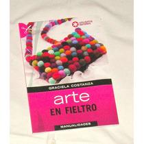 M37 Libro Arte En Fieltro De Utilisima Para Aprender