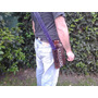 Carcaj De Cuero Semi-pocket Regulable En Posiciones