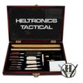 Baqueta En Caja Madera Para Limpiar Armas T/ Calibres