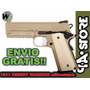 Pistola We Desert Warrior 6mm Airsoft Metal Blowback Env Gra