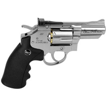 Revolver Co2 4.5mm Asg Dan Wesson 2.5´´ Cromado