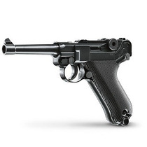 Pistola Parabellum Luger P08 Full Metal Airsoft Co2 Cal 6mm