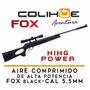 Aire Comprimido Fox Black Alta Potencia Cal 5,5mm