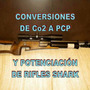 Conversion De Rifles Shark Co2 A Pcp