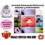 Almohada Embarazadas:amamantar,descanso+cervical Bebe!envio