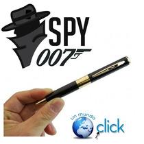 Lapicera Espía Con Cámara Y Micrófono Oculto