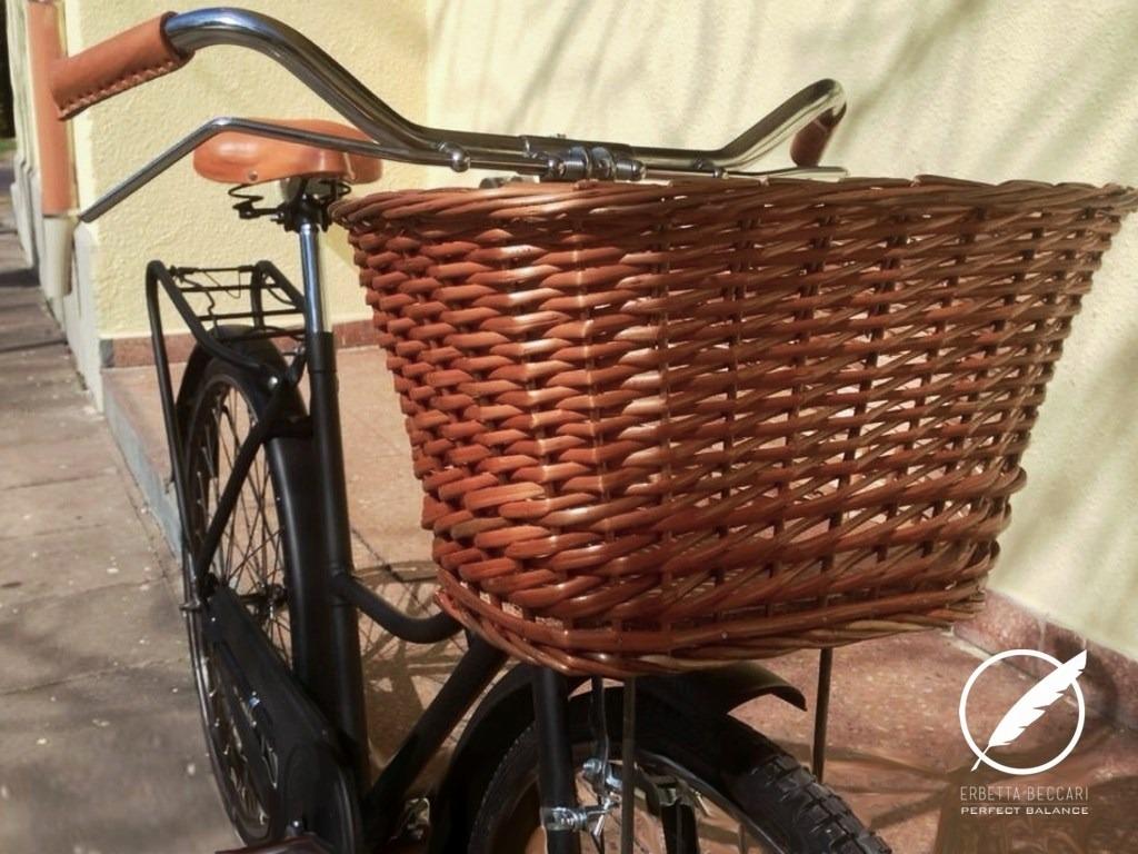 Cuello de bicicleta vintage plegable