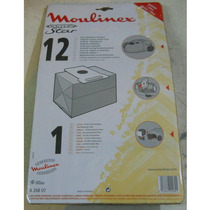 Regalo! Bolsa Para Aspiradora Moulinex Power Star Pack X 12