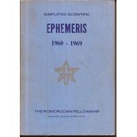 Efemérides Astrológicas Ephemeris 1960 -1969 (500 Páginas)