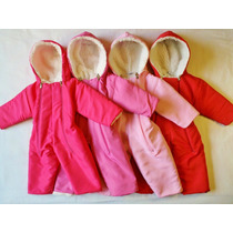 Pack X Mayor X 3 Astronautas Termicos Bebe Enterito Campera