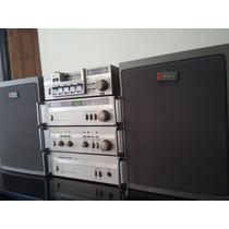 Conjunto Micro Series Aiwa - Potencia-pre-tuner-bafles-deck