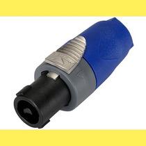 Ficha Conector Neutrik Nl2fx Speakon 2 Contactos Cable