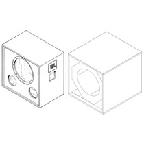 Caja Vacia Para Bafle Mod Jbl 4748a O Para Jbl 2241