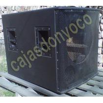 Caja Vacia Para Bafle Modelos Das Sub 18sx