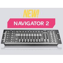 Controlador Consola Dmx American Pro Navigator 2