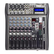 Consola Mixer 8 Canales Usb Mp3 Sd Sound Xtreme 16 Efectos