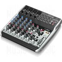 Behringer Consola Xenyx Q1202usb - Mezclador 12 Canales Usb