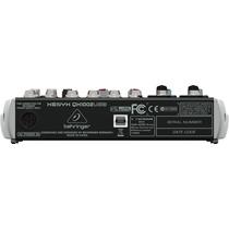 Behringer Xenyx Qx1002usb Mezclador 10 Entrada Usb/audio