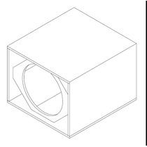 Caja Vacia Para Bafles Parlante Selenium 18w1000