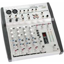 Consola De Sonido Vz6fx Skp Mixer 6ch C/ Efectos Panthom 48v