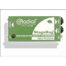 Radial Caja Directa Stage Bug Sb2 Pasiva Hendrix Music