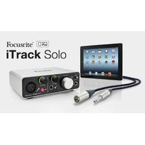 Focusrite Itrack Solo Placa De Audio Interface Para Ipad