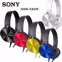 Auriculares Sony Extra Bass Mdrxb450-potenciado Manos Libres