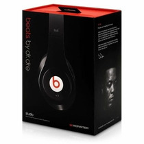 Auricular Monster Beats By. Dr Dre Studio Originales En Caja